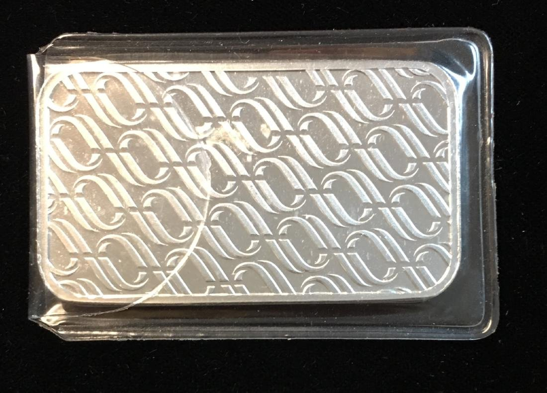 1 tr oz .999+ Fine Silver Bar OPM Metals USA Proof - 2
