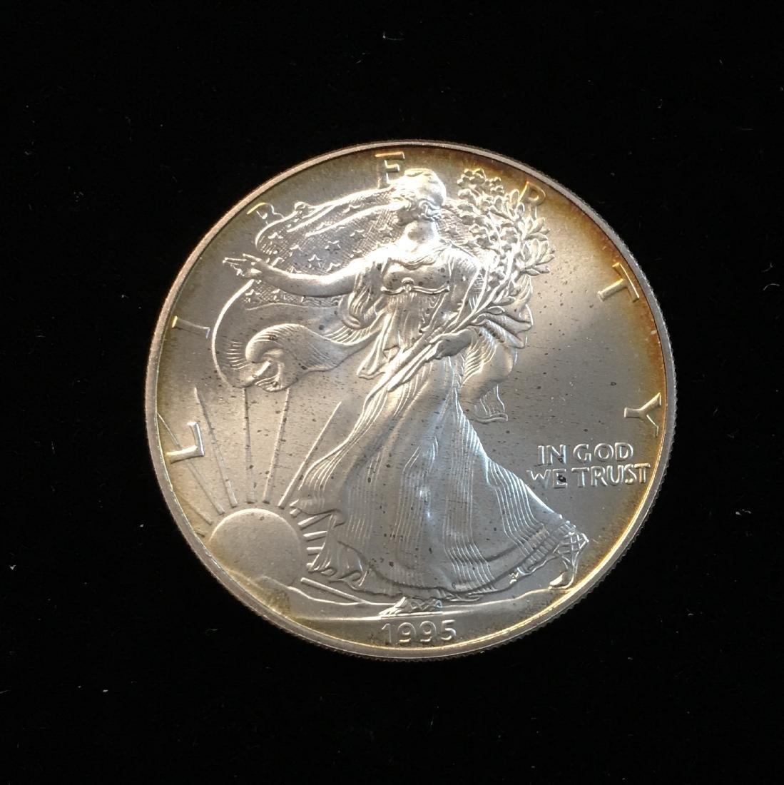 1995 American Silver Eagle Littleton Coin Company - 2