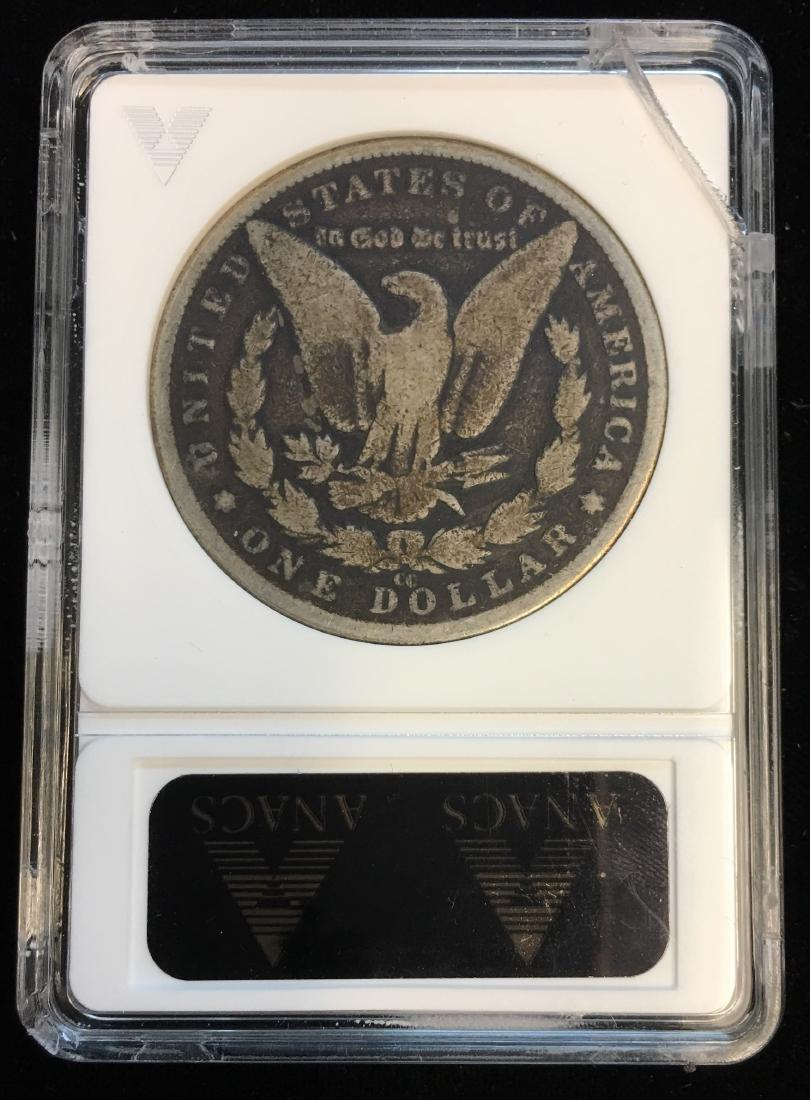 1883-CC $1 Morgan Silver Dollar ANACS G4 - 2