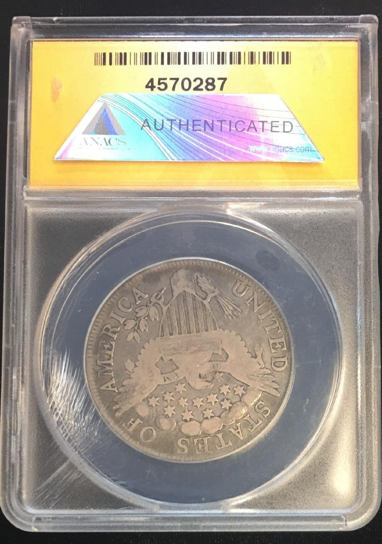 1806 50C Draped Bust Silver Half Dollar ANACS  GD6 - 2