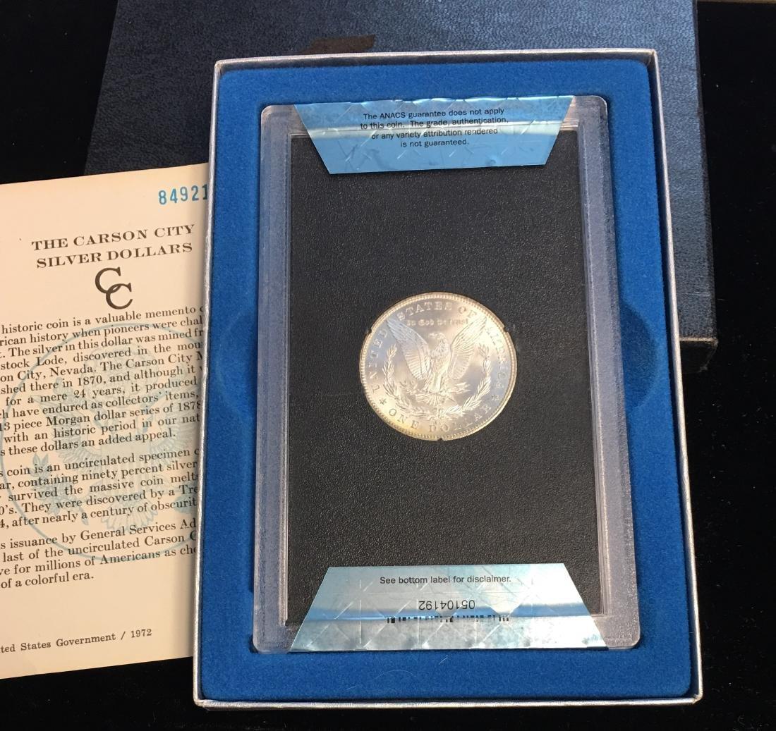1884-CC $1 Morgan Silver Dollar ANACS MS64 - 3