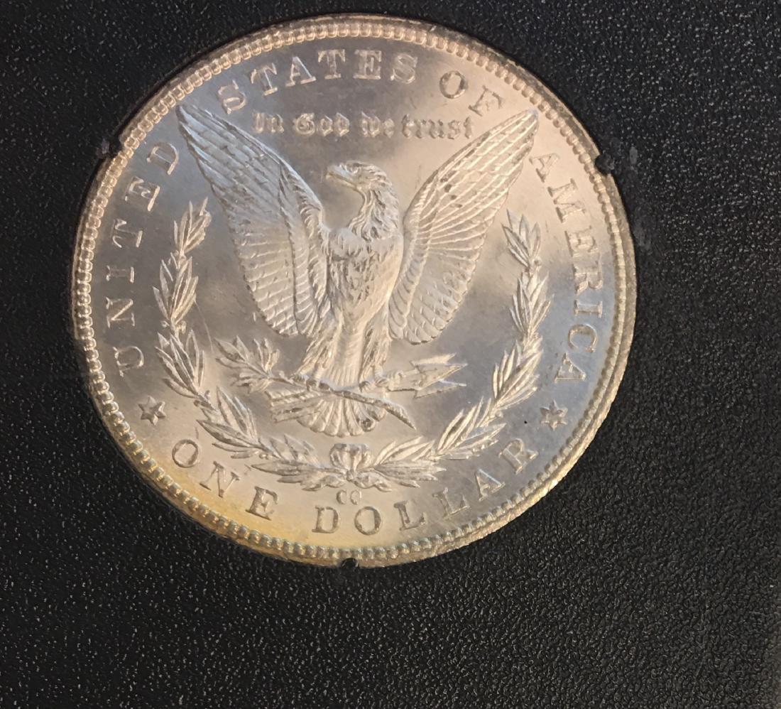 1884-CC $1 Morgan Silver Dollar ANACS MS64 - 4