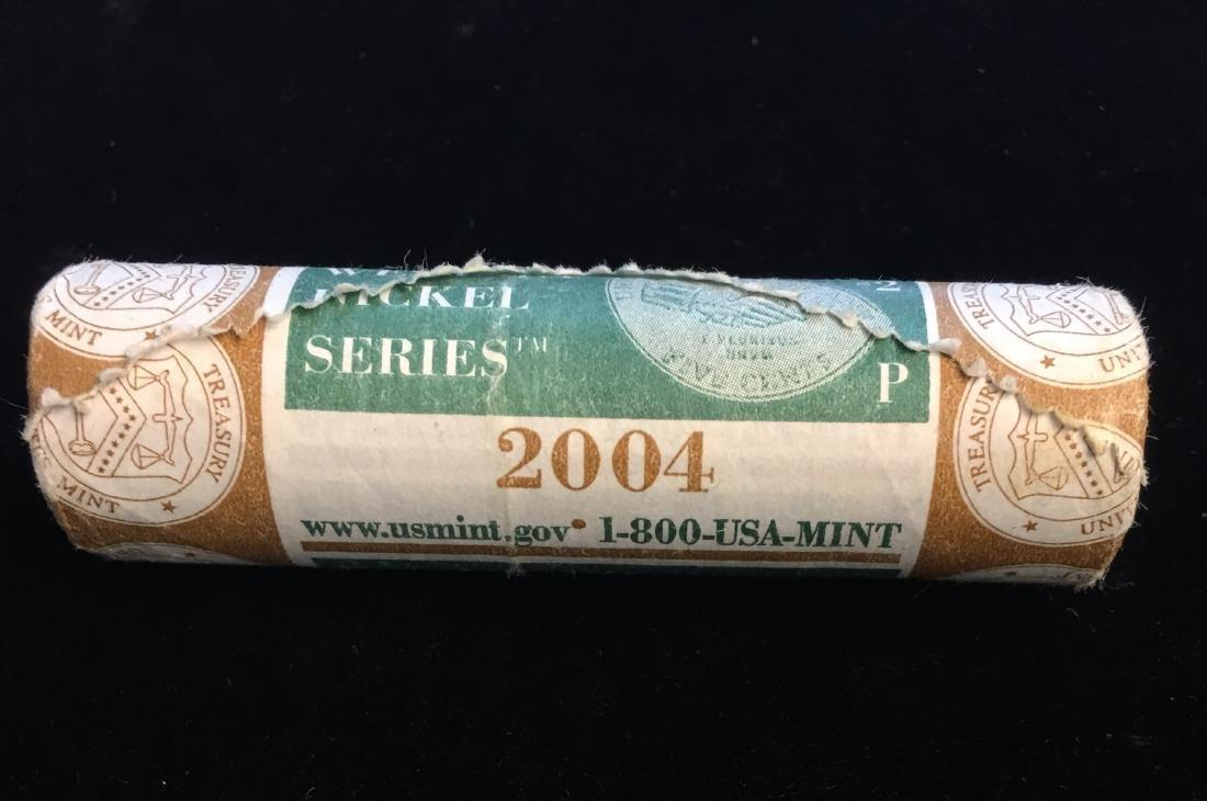 2004-P Peace Jefferson Nickels US Mint Roll of 40