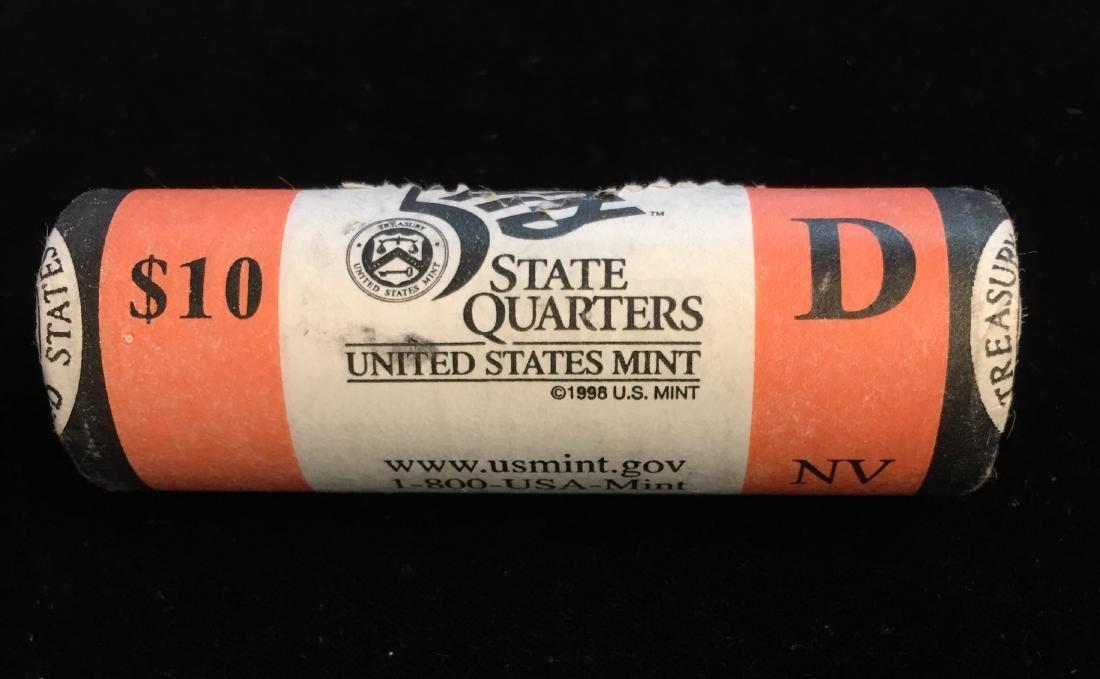 2006-D 25c Nevada Quarter US Mint Roll of 40 - $10