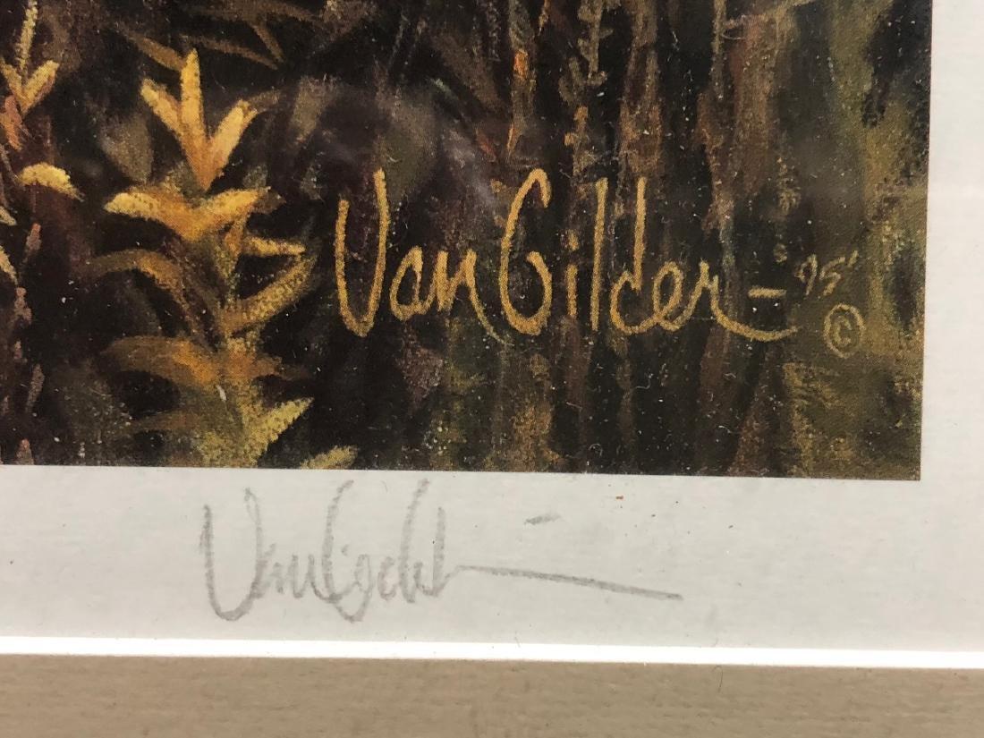 The Hanson Buck Framed art work by Ron Van Gilder #4952 - 3