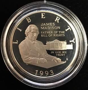 1993-S 50c Bill of Rights Modern Commemorative Silver
