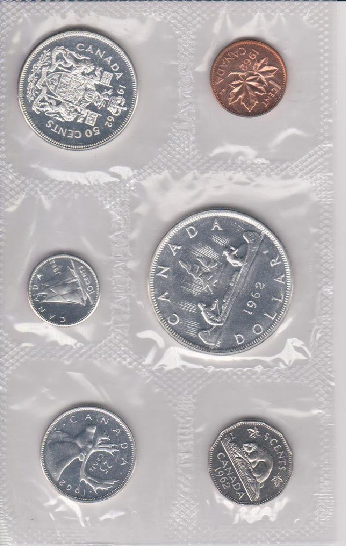 1962 Canada Proof - Like 6 Coin Mint Set in Original