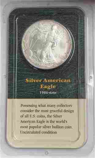 2000 $1 American Silver Eagle 1oz Littleton Coin