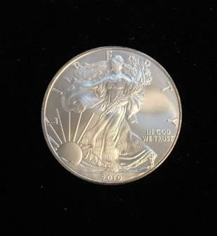 2010 $1 American Silver Eagle 1oz BU