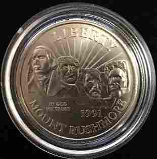 1991-D 50c Mount Rushmore Golden Anniversary