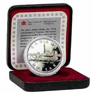 1984 Canada .500 Fine Silver Proof Dollar Toronto
