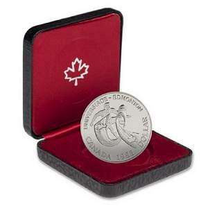 1983 Canada .500 Fine Proof Silver Dollar -
