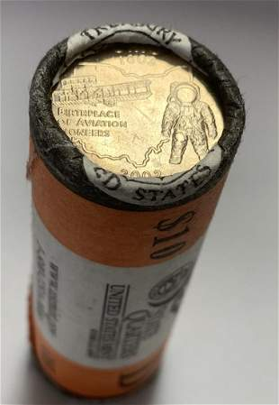 2002-D Ohio U.S. Mint Wrapped Roll of 40 State