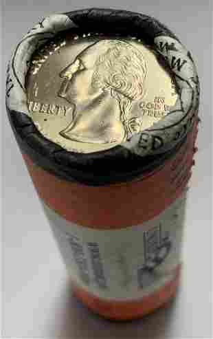 2008-P Oklahoma U.S. Mint Wrapped Roll of 40 State
