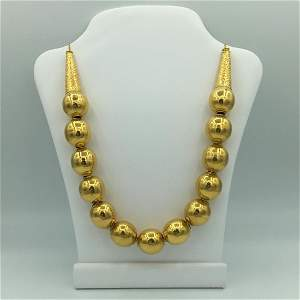 18K Yellow Gold Exceptional Middle Eastern Style 22
