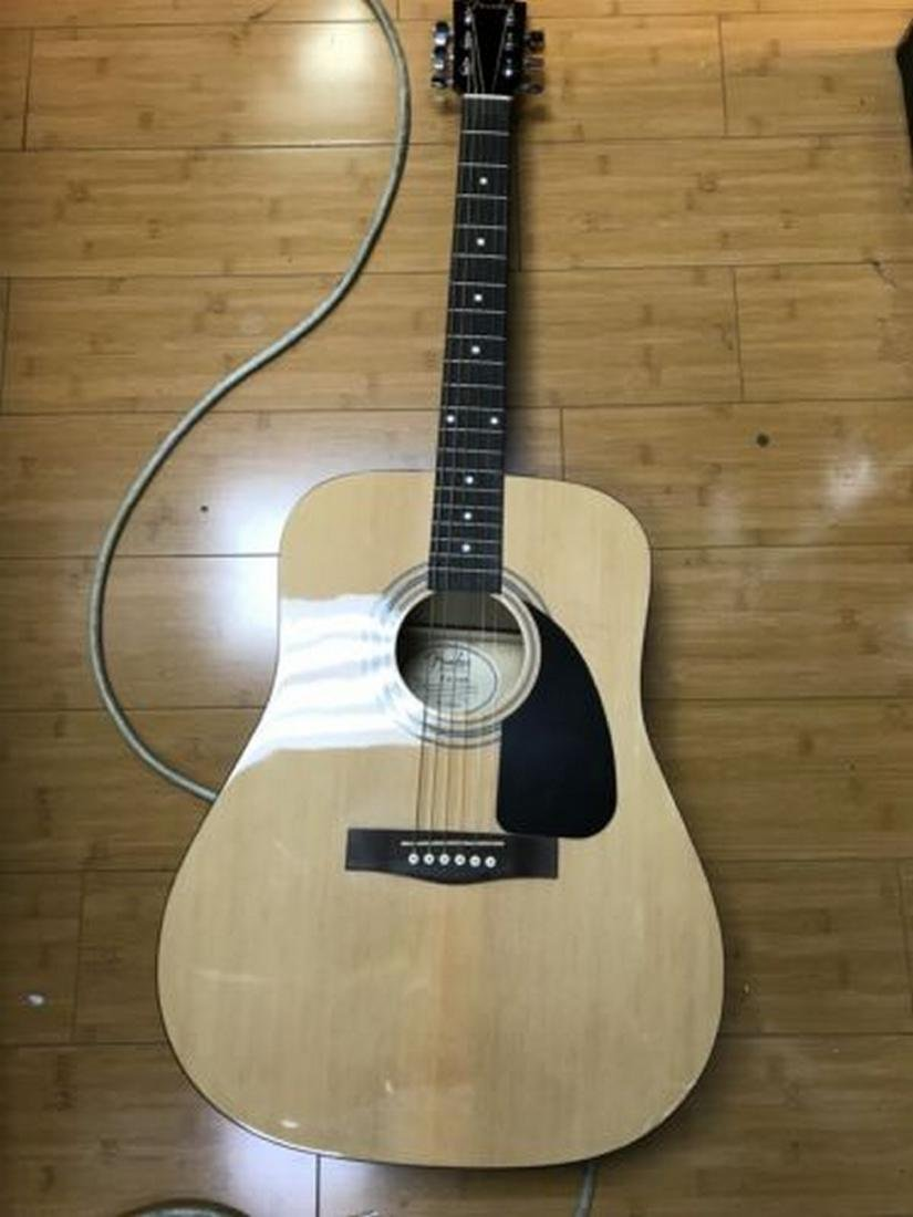 Fender FA-100 Dreadnought Acoustic Guitar with Soft