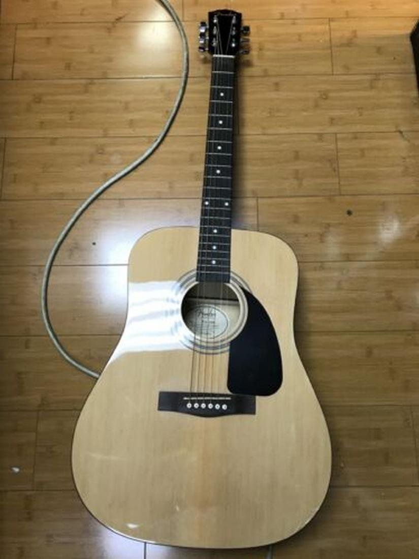 Fender FA-100 Dreadnought Acoustic Guitar with Soft - 2