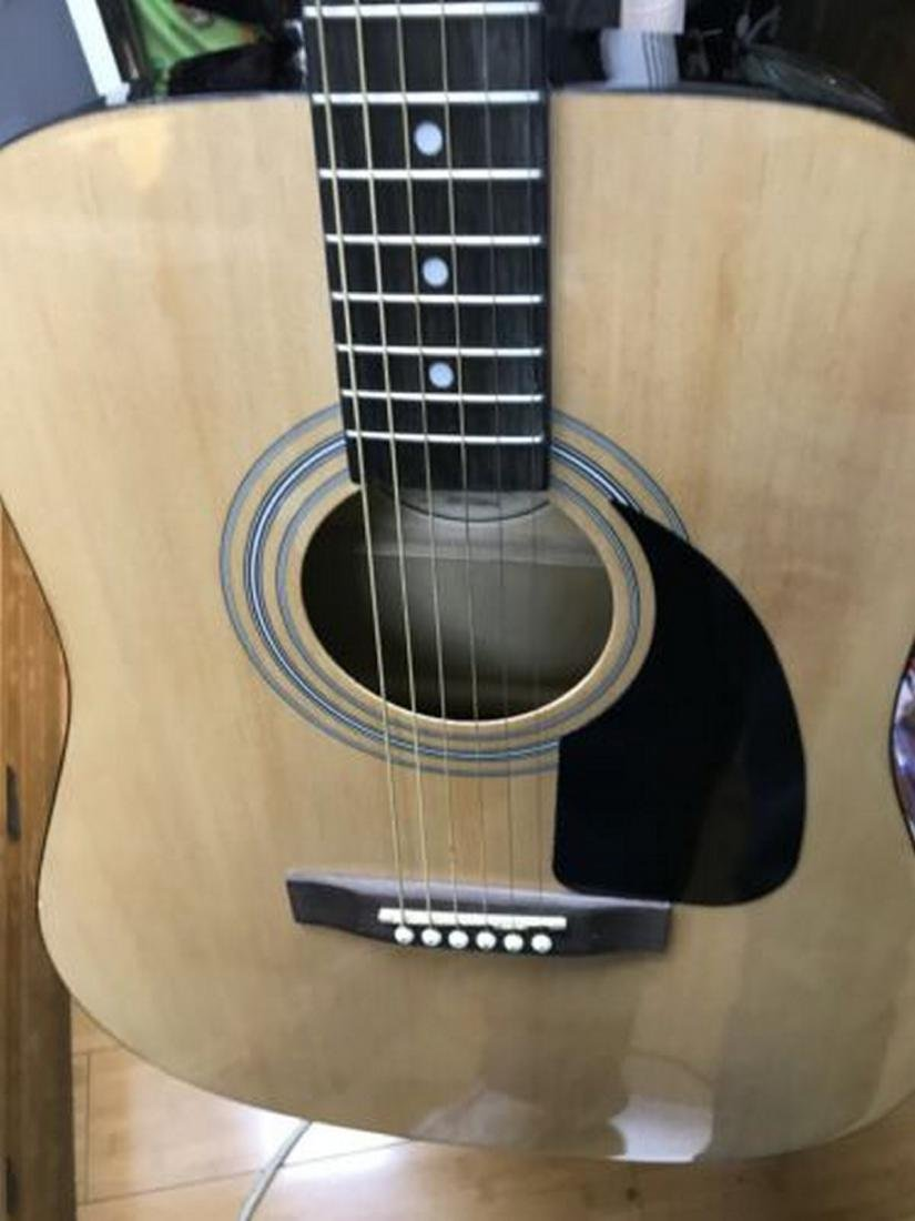 Fender FA-100 Dreadnought Acoustic Guitar with Soft - 8