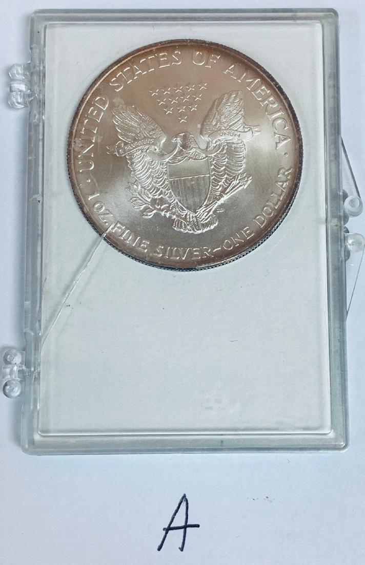 2003 $1 American Silver Eagle 1 oz .999 Fine Silver BU - 8
