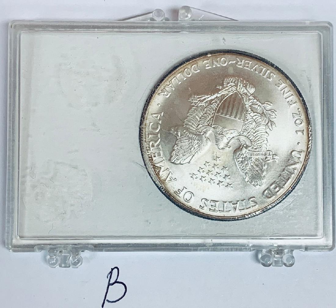 2003 $1 American Silver Eagle 1 oz .999 Fine Silver BU - 5