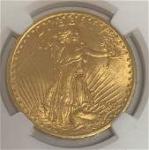 1909/8 $20 Saint-Gaudens Double Eagle