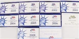 2000 - 2009 Proof Sets
