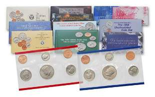 1990 - 1999 Mint Sets