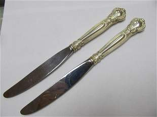 GORHAM CHANTILLY SELECT STERLING SILVER HANDLE KNIFE 9
