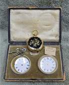 Henry Capt Geneve 18K Pocket Watch Maria Peebles