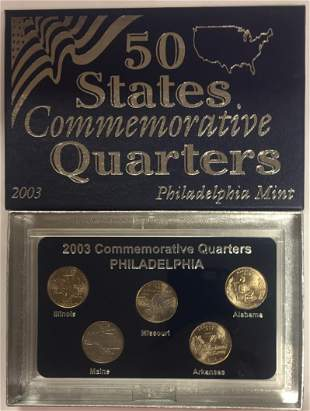 2003-P Philadelphia Mint 50 States Commemorative