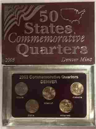 2003-D Denver Mint 50 States Commemorative Quarters