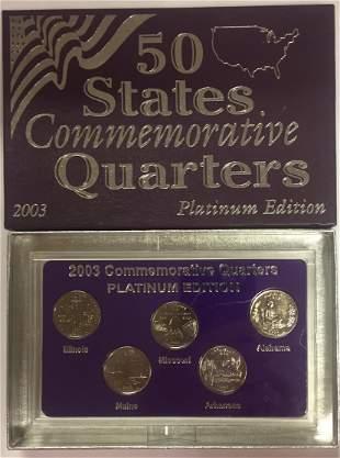 2003-D Platinum Edition 50 States Commemorative