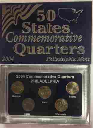 2004-P Philadelphia Mint 50 States Commemorative