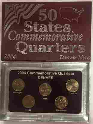 2004-D Denver Mint 50 States Commemorative Quarters