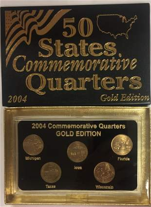 2004-P Gold Edition 50 States Commemorative Quarters