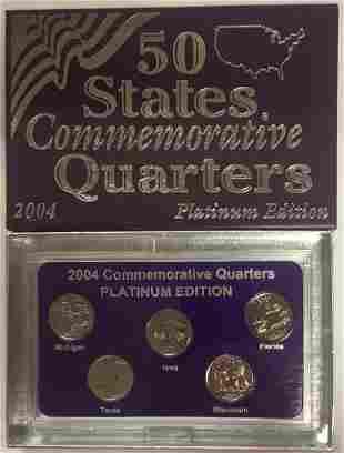 2004-D Platinum Edition 50 States Commemorative