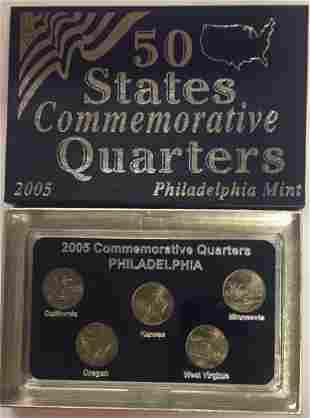 2005-P Philadelphia Mint 50 States Commemorative
