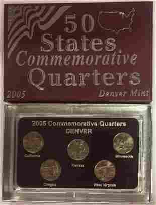 2005-D Denver Mint 50 States Commemorative Quarters