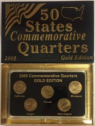 2005-P Gold Edition 50 States Commemorative Quarters