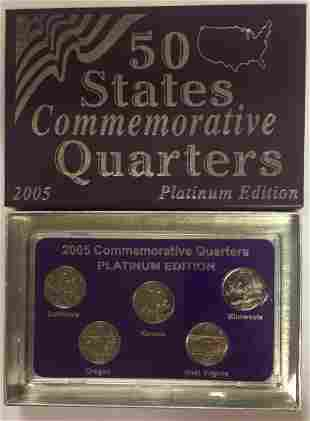 2005-D Platinum Edition 50 States Commemorative
