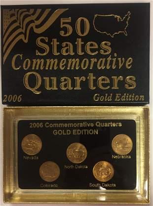 2006-P Gold Edition 50 States Commemorative Quarters