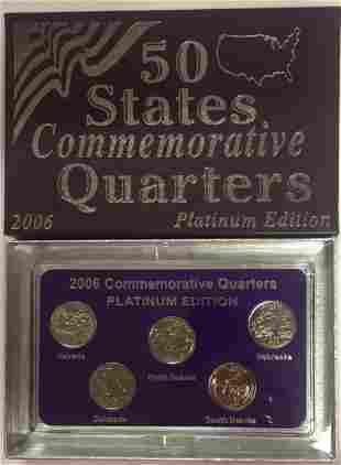 2006-D Platinum Edition 50 States Commemorative