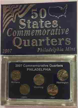 2007 P Philadelphia Mint 50 States Commemorative