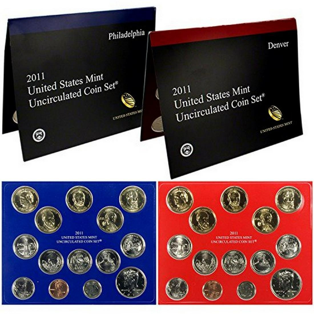 2011 P & D US Mint Set in Original Government Packaging