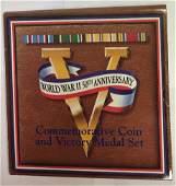 1993 P 1991-1995 World War II 50th Anniversary Coin &