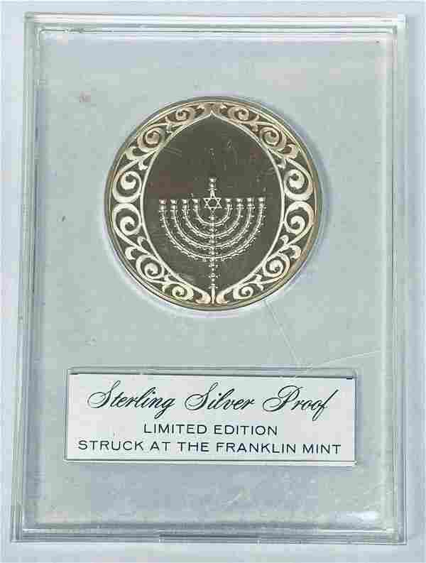 1970 Festival of Lights Franklin Mint Holiday Sterling