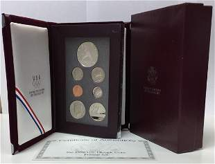 1992-S Prestige Proof Set in OGP & COA