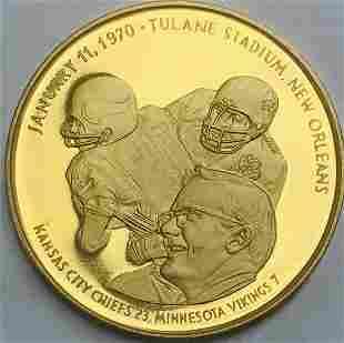 1.93 toz Super Bowl IV Kansas City Chiefs Minnesota