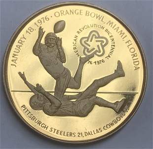 1976 Super Bowl X Pittsburgh Steelers - Dallas Cowboys