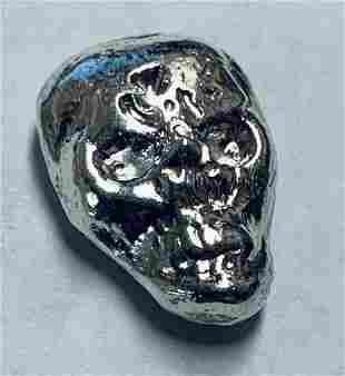 1/2 toz .999 Pure Fine Solid Silver Hand Poured 3-D
